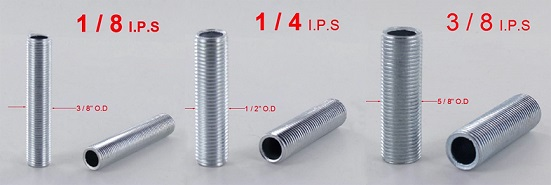 Thread Size Chart – Grand Brass Lamp Parts, LLC